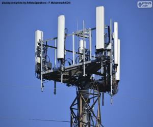 Telecommunications tower 5g puzzle