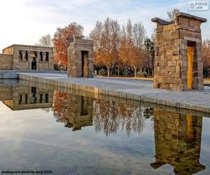 Temple of Debod, Madrid puzzle