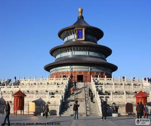 Temple of Heaven, Beijing, China puzzle