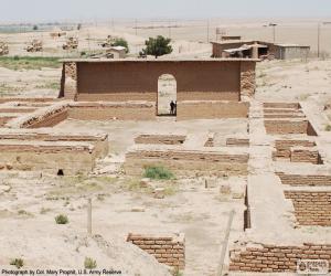 Temple of Nabu, Iraq puzzle