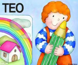 Teo and colors puzzle