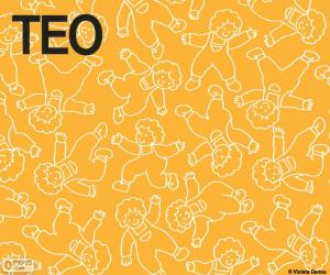 Teo in different positions puzzle