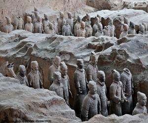 Terracotta Army, China puzzle