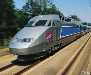 TGV, France puzzle