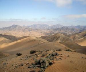 The Atacama desert in Chile puzzle