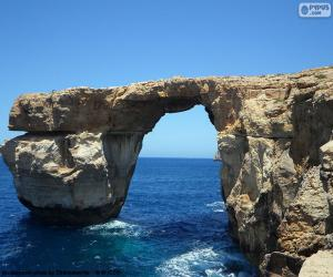 The Azure Window, Malta puzzle