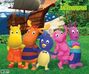 The Backyardigans puzzle