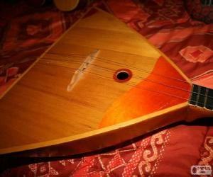 The balalaika is a Russian folk stringed musical instrument puzzle