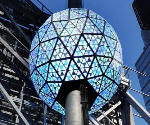 The ball of the new year, Times Square, Manhattan, New York puzzle