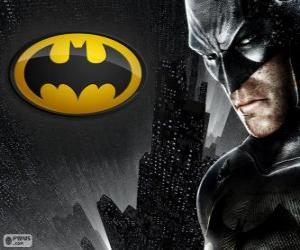 The bat man, the superhero Batman puzzle