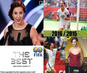The Best FIFA Women's Player 2016 puzzle