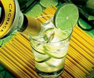 The caipirinha is a Brazilian cocktail consisting of rum, lime, sugar and ice. puzzle