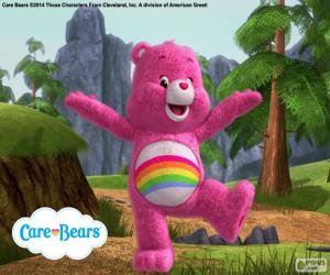 The Care Bear Cheer Bear puzzle