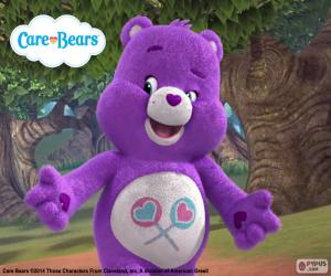The Care Bear Share Bear puzzle