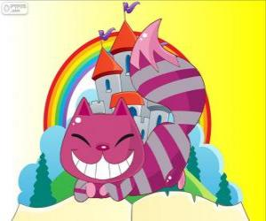 The Cheshire Cat appears and disappears puzzle