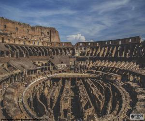 The Colosseum, interior puzzle