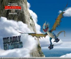 The Deadly Nadder dragons are quick and agile in the air and can fly for long distances puzzle