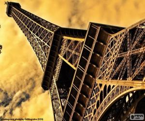 The Eiffel Tower, Paris puzzle