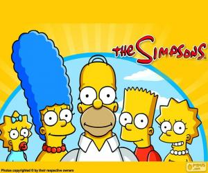 The entire Simpson family puzzle