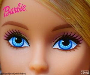 The eyes of Barbie puzzle