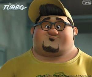 The face of Tito Dos Bros puzzle