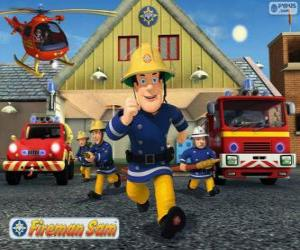 The firefighters of Pontypandy puzzle