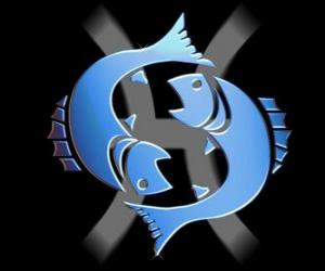 The Fish. Twelfth sign of the zodiac. The Latin name is Pisces puzzle