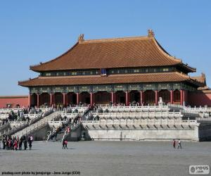 The Forbidden City, China puzzle