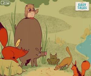 The forest animals decide the career path puzzle