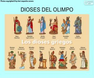 The Greek Gods puzzle