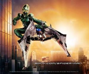 The Green Goblin is a supervillain considered one of the archenemies of Spider-Man puzzle