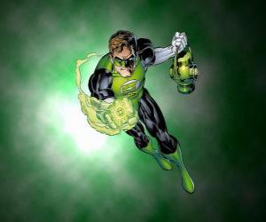 The Green Lantern, the superhero has a power ring which is one of the most powerful weapons in the universe puzzle