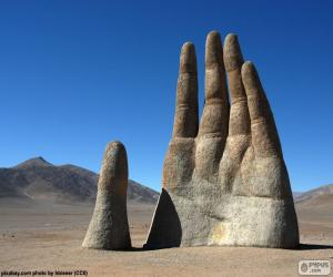 The Hand of the desert, Chile puzzle