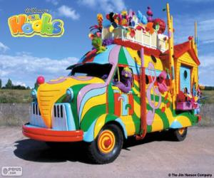 The Hoobmobile off The Hoobs puzzle