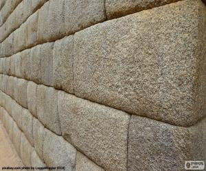 The Inca stone wall puzzle
