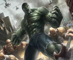 The Incredible Hulk or the Hulk with a virtually unlimited power is one of the most famous superheroes puzzle