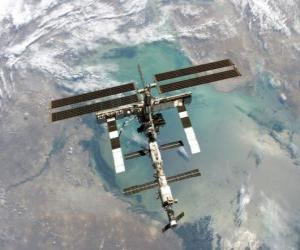 The International Space Station (ISS) puzzle