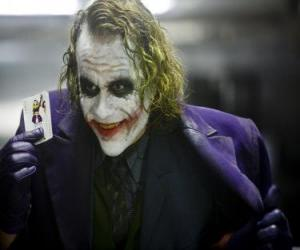 The Joker is Batman's greatest enemy and one of the most popular villains puzzle