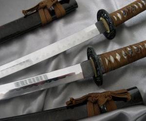 The Katana is a single-edge sword, curved puzzle
