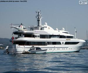 The Lady Marina yacht puzzle