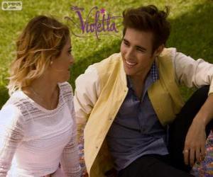 The love of Violetta and Leon, Violetta 3 puzzle