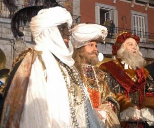 The Magi or Three Wise Men, Caspar, Melchior and Balthasar puzzle