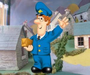 The mailman Pat Clifton lives in Greendale with his wife Sarah and his son Julian puzzle