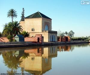The Menara, Morocco puzzle