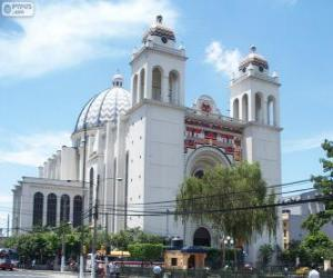 The Metropolitan Cathedral of the Holy Savior, San Salvador, El Salvador puzzle