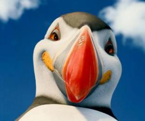 The Mighty Sven, an atlantic puffin which can fly puzzle