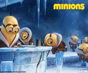The Minions in Antarctica puzzle