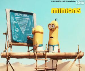 The minions in Egypt puzzle