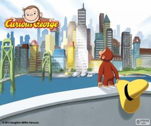 The monkey George and the city puzzle