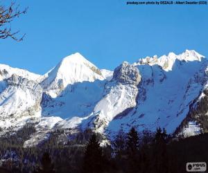 The Mont Blanc snow puzzle